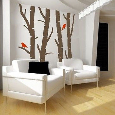 Birch Trees Wall Decal - Decor Designs Decals