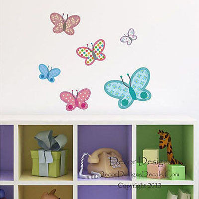 Butterflies Wall Decal - Decor Designs Decals
