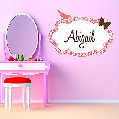 Bird and Butterfly Wall Decal - Decor Designs Decals