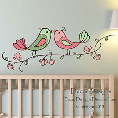 Birdie Branch Wall Decal - Decor Designs Decals