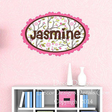 Branches Name Wall Decal - Decor Designs Decals
