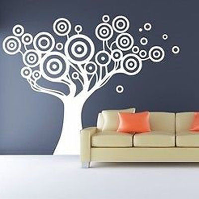 Bubble Tree Wall Decal - Decor Designs Decals