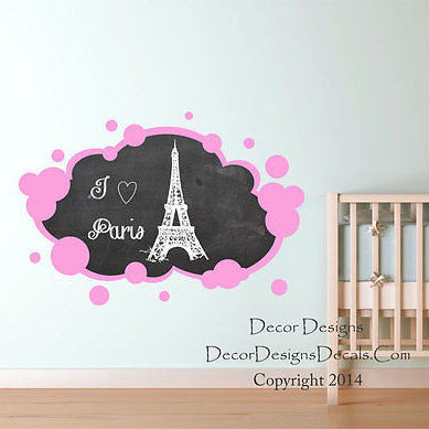Bubbles Chalkboard Decal - Decor Designs Decals
