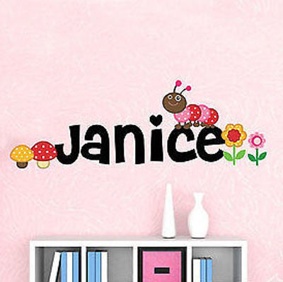 Woodland Name Wall Decal - Decor Designs Decals