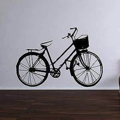 Classic Bike Wall Decal - Decor Designs Decals