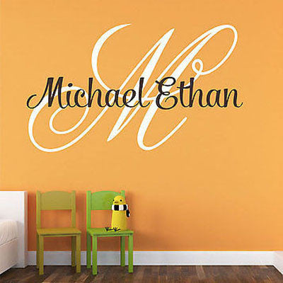Boys Name Wall Decal - Decor Designs Decals