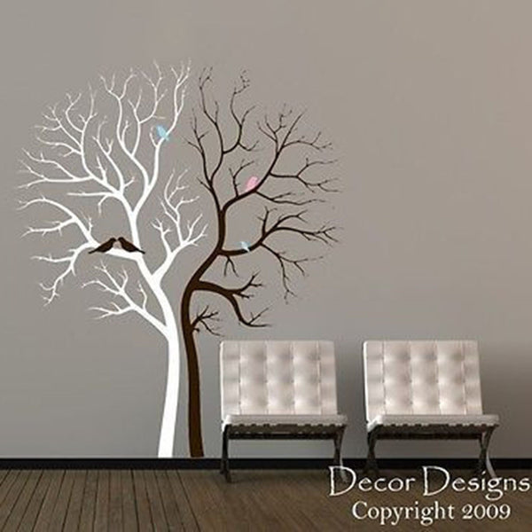 Double Tree Wall Decal - Decor Designs Decals