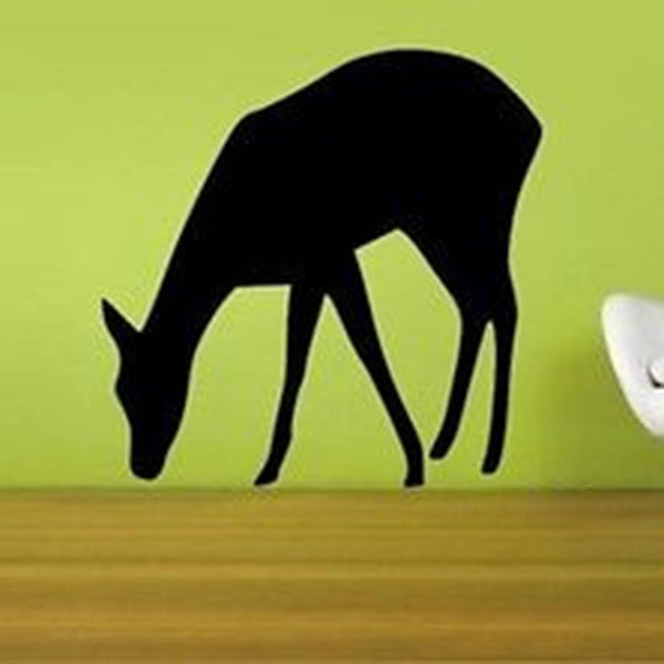 Drinking Deer Wall Decal - Decor Designs Decals
