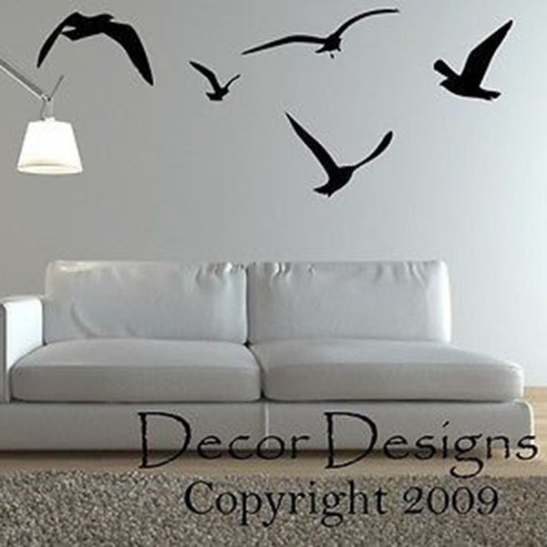 Flock of Birds Wall Decal - Decor Designs Decals