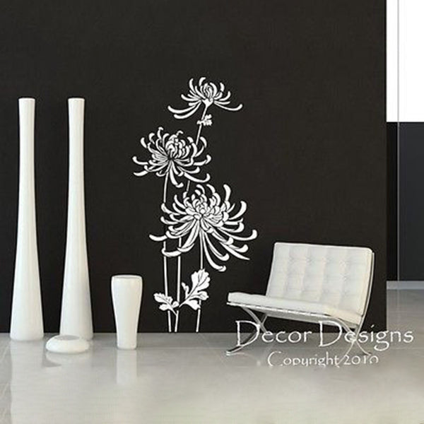 In Bloom Vinyl Wall Decal. - Decor Designs Decals