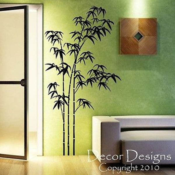Large Bamboo Vinyl Wall Decal Sticker - Decor Designs Decals