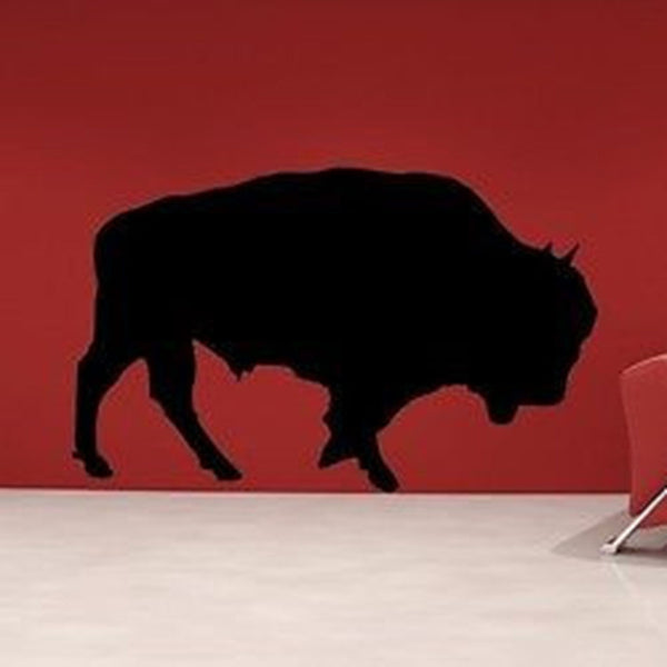 Large Buffalo Vinyl Wall Decal Sticker - Decor Designs Decals