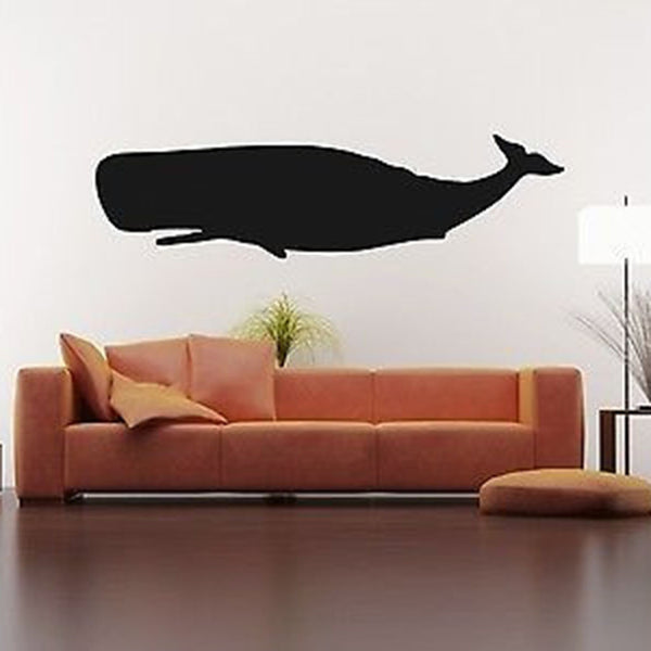 Large Whale Vinyl Wall Decal Sticker - Decor Designs Decals