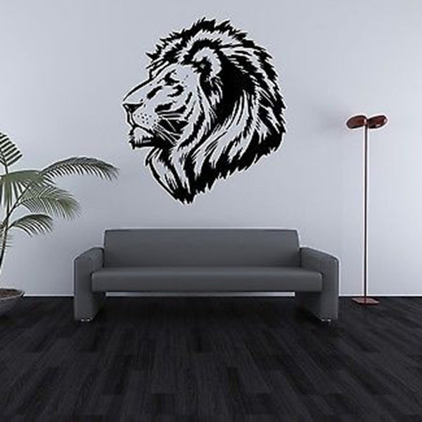 Lions Head Vinyl Wall Decal Sticker - Decor Designs Decals