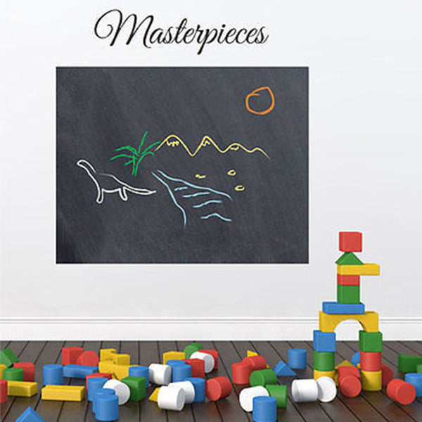 Masterpieces Chalkboard Vinyl Wall Decal Sticker - Decor Designs Decals