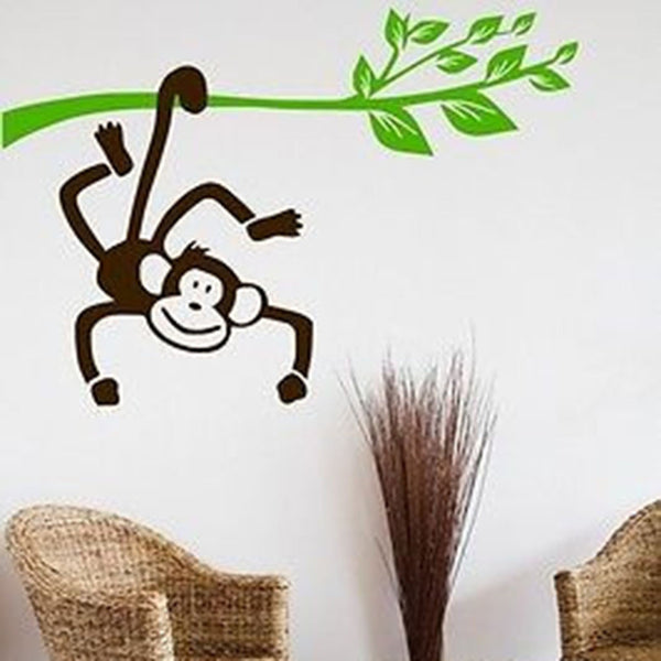 Monkey Branch Wall Decal - Decor Designs Decals