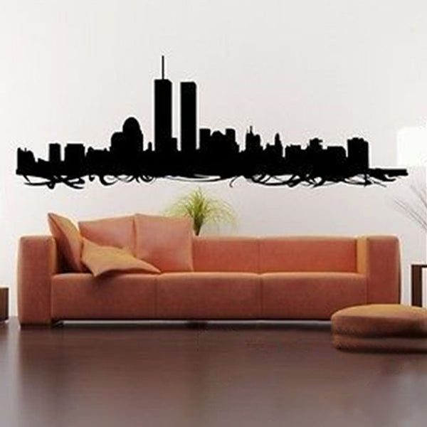 NYC Skyline Vinyl Wall Decal Sticker - Decor Designs Decals