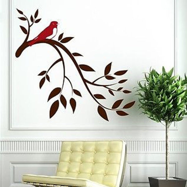Olive Branch Vinyl Wall Decal Sticker - Decor Designs Decals