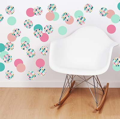 Polka Dot 1 Vinyl Wall Decal Sticker - Decor Designs Decals
