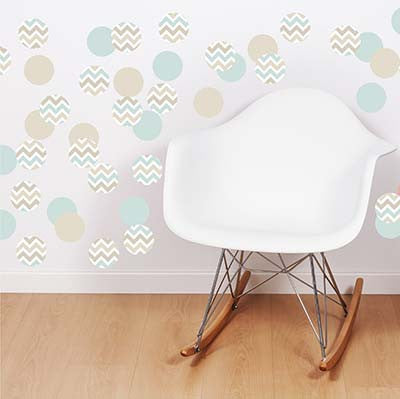 Polka Dot 2 Vinyl Wall Decal Sticker - Decor Designs Decals