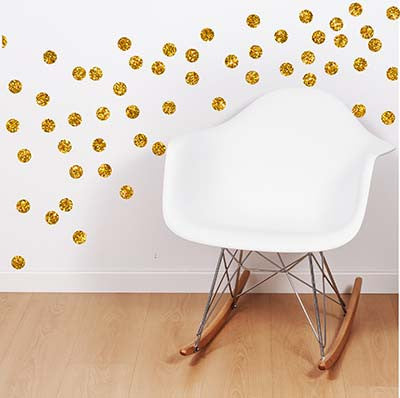 Polka Dot 3 Vinyl Wall Decal Sticker - Decor Designs Decals