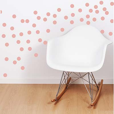 Polka Dot 5 Vinyl Wall Decal Sticker - Decor Designs Decals