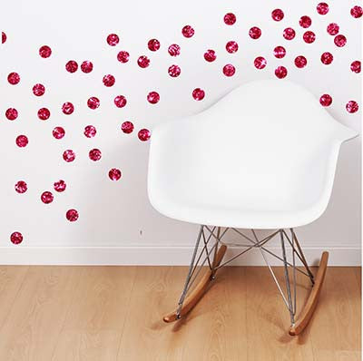 Polka Dot 6 Vinyl Wall Decal Sticker - Decor Designs Decals