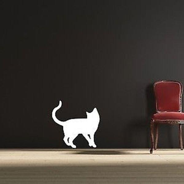 Playful Cat Wall Decal Vinyl Wall Art Decal Sticker - Decor Designs Decals