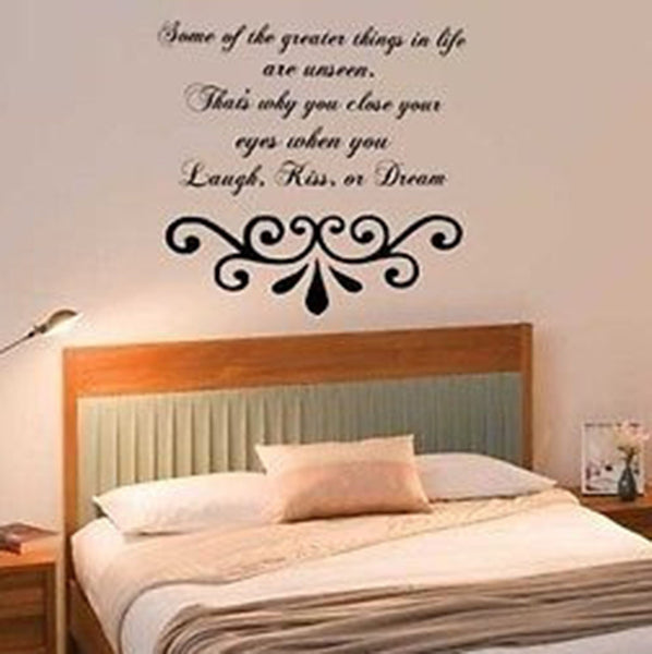 Some of the Greater Things Quote Vinyl Wall Decal Sticker - Decor Designs Decals