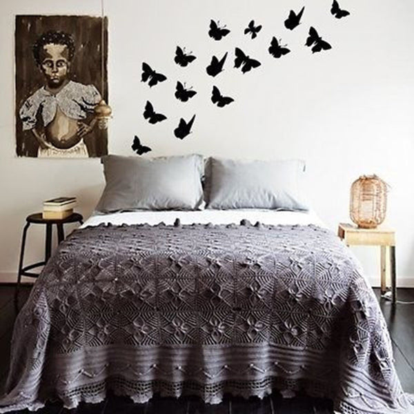 Swirl of Butterflies Vinyl Wall Decal Sticker - Decor Designs Decals