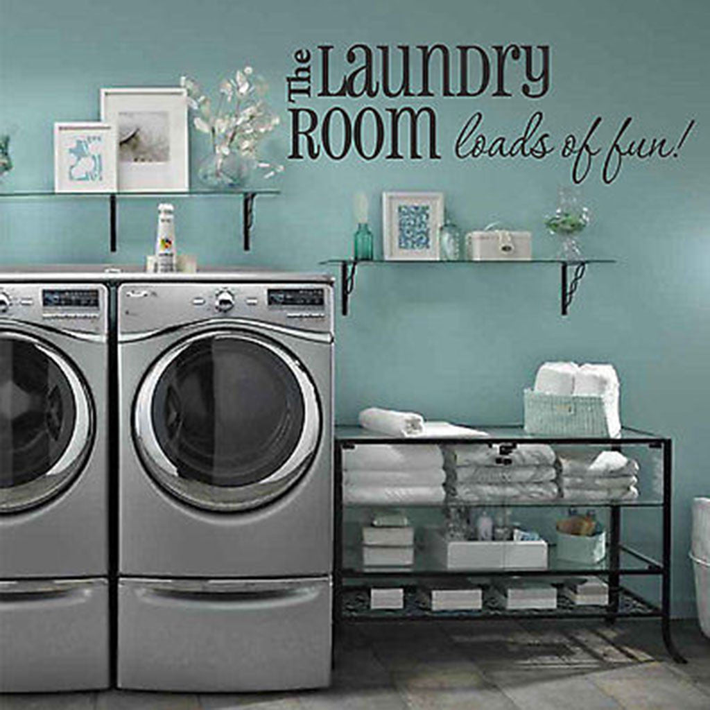 Laundry Room Wall Decor Stickers Interesting Loads Of Funlaundry Room Wall Decal  Decor Designs Decals Inspiration