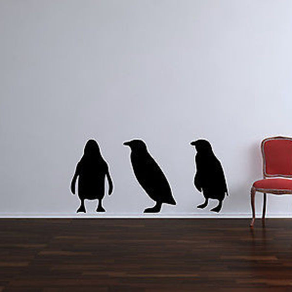 Three Little Penguins Wall Decal - Decor Designs Decals