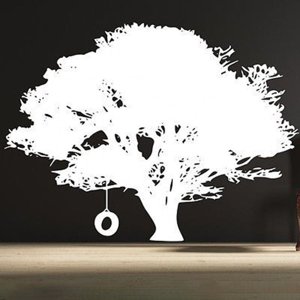 Tire Swing Tree Wall Decal - Decor Designs Decals