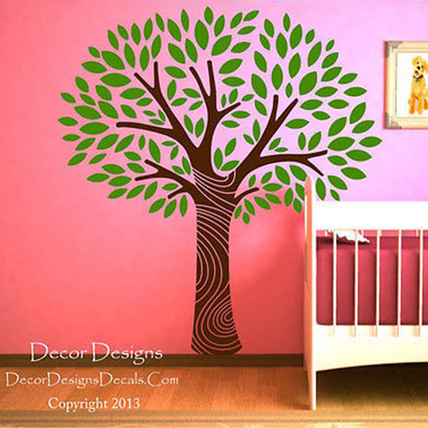 Tree Swirl Vinyl Wall Decal Stickers - Decor Designs Decals