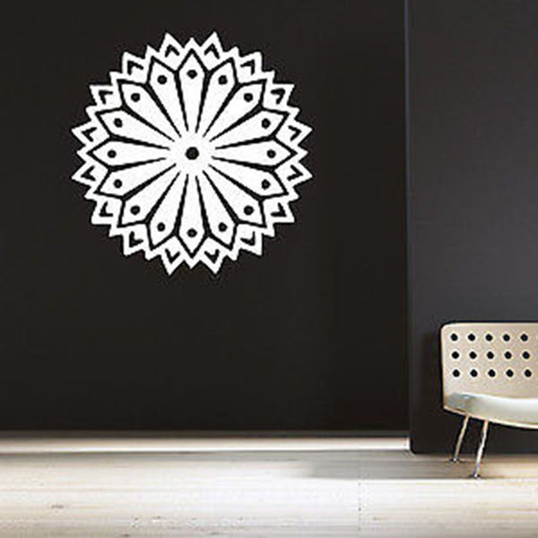 Tribal Mandala Vinyl Wall Decal Sticker - Decor Designs Decals