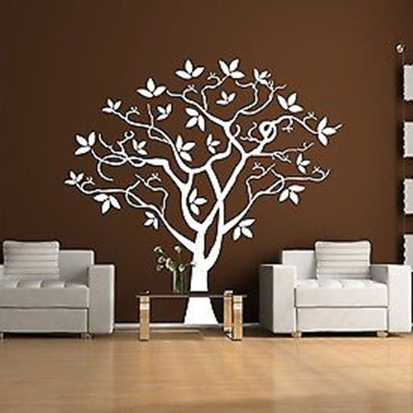 Twisted Tree Vinyl Wall Decal Sticker - Decor Designs Decals