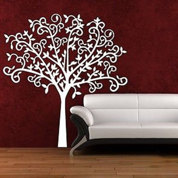 Twisty-Twisty Tree Vinyl Wall Decal - Decor Designs Decals