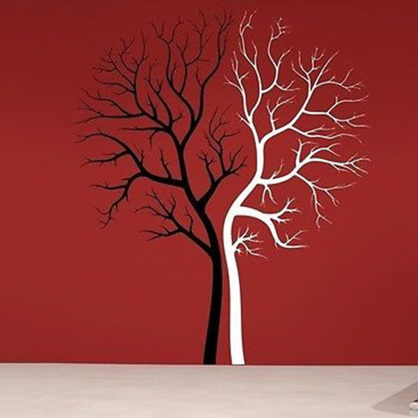 Two Tone Tree Wall Decal - Decor Designs Decals