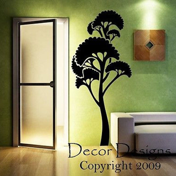 Umbrella Tree Vinyl Wall Decal - Decor Designs Decals