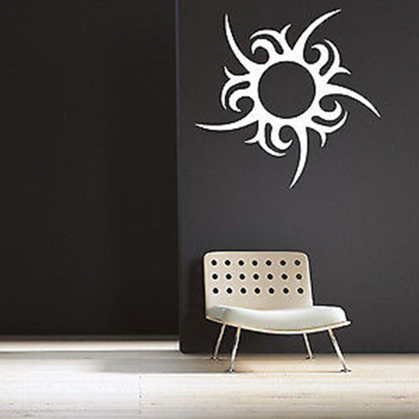 Unique Sun Vinyl Wall Decal Sticker - Decor Designs Decals
