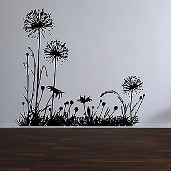 Wild Dandelion Vinyl Wall Decal Sticker - Decor Designs Decals