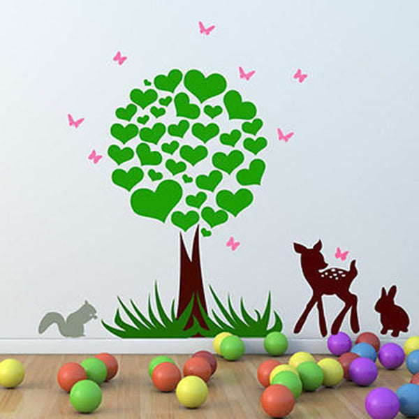 Woodland Scene Wall Decal - Decor Designs Decals