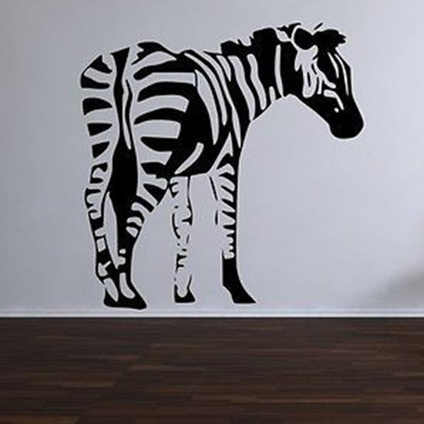 Zebra Vinyl Wall Decal Sticker - Decor Designs Decals