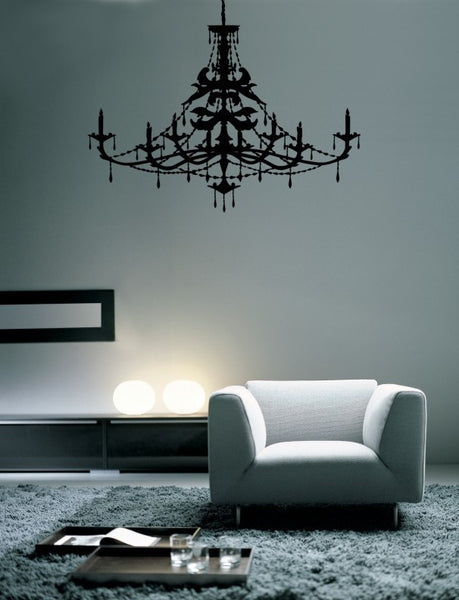Classy Chandelier Wall Decal - Decor Designs Decals - 1