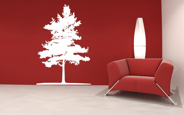 Fir Tree Vinyl Wall Decal Sticker - Decor Designs Decals - 1