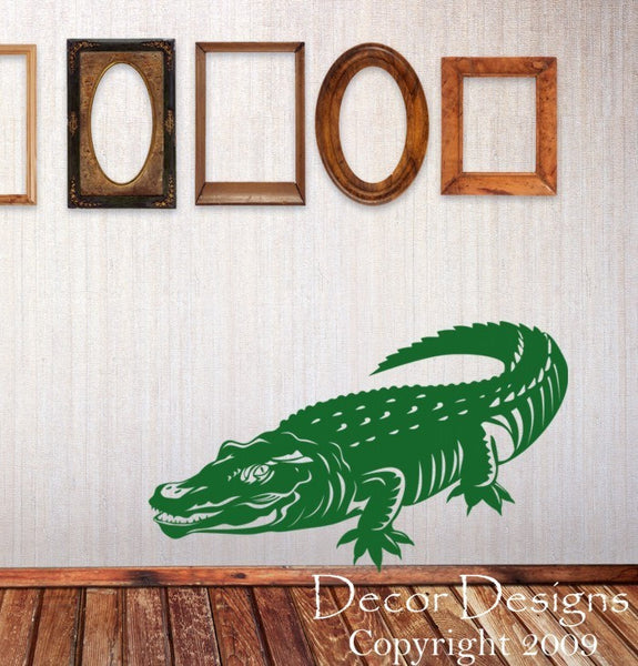 Alligator Wall Decal - Decor Designs Decals - 1