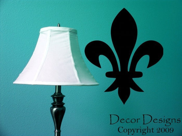 Fleur-de-lis Vinyl Wall Decal Sticker - Decor Designs Decals - 1