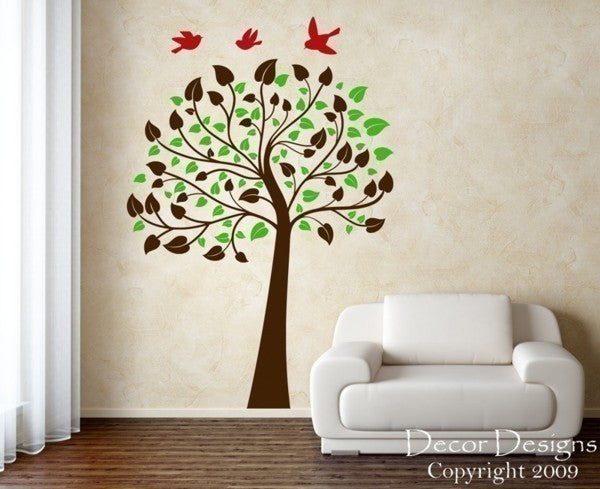 Cutie Pie Tree Wall Decal - Decor Designs Decals - 1