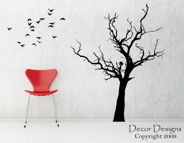 Bare Tree Wall Decal - Decor Designs Decals - 1