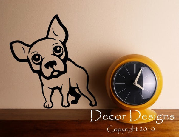 Boston Terrier Wall Decal - Decor Designs Decals - 1